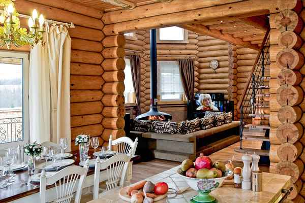 Необычные дома и бани под ключ в Санкт-Петербурге